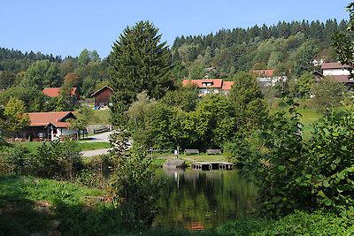 Kurpark in Sankt Englmar